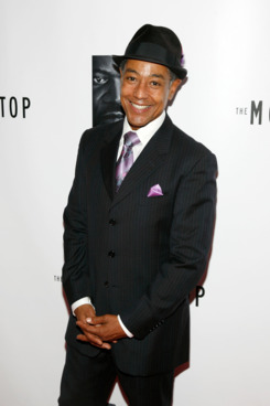 "NEW YORK, NY - OCTOBER 13:  Giancarlo Esposito attends an after party for the Broadway opening night of ""The Mountaintop"" at Espace on October 13, 2011 in New York City.  (Photo by Andy Kropa/Getty Images)"