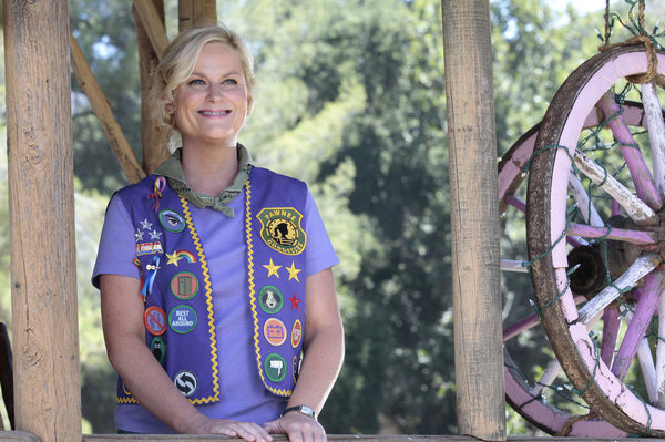 "PARKS AND RECREATION -- ""Pawnee Rangers"" Episode 404 -- Pictured: Amy Poehler as Leslie Knope -- Photo by: Chris Haston/NBC"