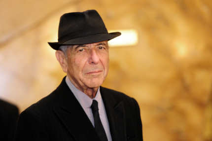 "Canadian singer Leonard Cohen arrives at the Jovellanos Theatre for the concert ""A Tribute to Leonard Cohen"" in Gijon, on October 19, 2011. Cohen will receive the Prince of Asturias Award for Letters from Spain's Crown Prince Felipe during a ceremony on October 21, 2011 in Oviedo.  AFP PHOTO / JAVIER SORIANO (Photo credit should read JAVIER SORIANO/AFP/Getty Images)"