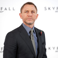 British actor Daniel Craig poses for photographers at a photocall to announce the start of production of the 23rd film in the James Bond series; 'Skyfall', in central London on November 3, 2011. The film sees Craig return to the role in his third outing as the spy hero and will be directed by Academy Award winner Sam Mendes.  Production begins on November 7 with worldwide release scheduled for October 26, 2012. AFP PHOTO / LEON NEAL (Photo credit should read LEON NEAL/AFP/Getty Images)