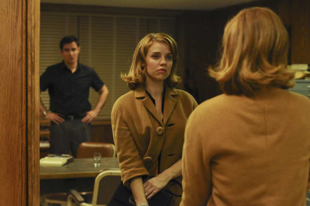 "PAN AM - ""Truth or Dare"" -- Sparks fly between Laura and a sailor on a special - and unusually wild -- Pan Am flight bringing servicemen home, leading Laura to realize what she's really looking for in a man, as well as opening her eyes to the malicious racial climate in the country. Meanwhile Kate's complicated mission to turn Niko to work for the U.S. government culminates in dramatic fashion, threatening their personal relationship, on ""Pan Am,"" SUNDAY, NOVEMBER 6 (10:01-11:00 p.m., ET), on the ABC Television Network. (ABC/NICOLE RIVELLI) GORAN VISNJIC, KELLI GARNER"