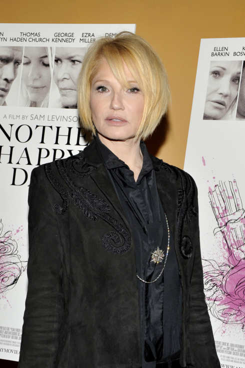 "NEW YORK, NY - NOVEMBER 14:  Ellen Barkin attends a screening of ""Another Happy Day"" at Sunshine Landmark on November 14, 2011 in New York City. (Photo by Michael N. Todaro/Getty Images)"