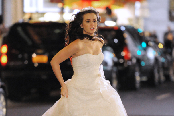 Leighton Meester wears a wedding dress while filming a scene for 'Gossip Girl' in New York City.<P>Pictured: Leighton Meester<P><B>Ref: SPL335076  141111  </B><BR/>Picture by: Ronald Asadorian/Splash<BR/></P><P><B>Splash News and Pictures</B><BR/>Los Angeles:310-821-2666<BR/>New York:212-619-2666<BR/>London:870-934-2666<BR/>photodesk@splashnews.com<BR/></P>