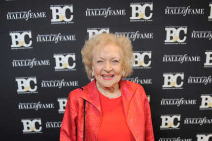 NEW YORK, NY - OCTOBER 26:  Actress Betty White poses for a photo at the 21st Annual Broadcasting & Cable Hall Of Fame Awards at The Waldorf Astoria on October 26, 2011 in New York City.  (Photo by Jemal Countess/Getty Images)