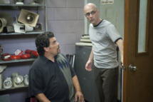"Luis Guzman as Luis Guzman, Jim Rash as Dean Pelton in Community Episode 308: ""Documentary Filmmaking: Redux""."