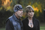 SONS OF ANARCHY: L-R: Ron Pearlman and Katey Sagal on SONS OF ANARCHY airing Wednesday, Nov. 26 (10:00PM ET/PT) on FX. CR: Prashant Gupta/ FX.