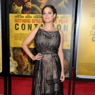 NEW YORK, NY - SEPTEMBER 07:  Marion Cotillard attends the &quot;Contagion&quot; premiere at the Rose Theater, Jazz at Lincoln Center on September 7, 2011 in New York City.  (Photo by Michael Loccisano/Getty Images)