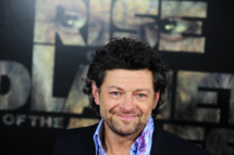 "Actor Andy Serkis arrives at the Los Angeles premiere of  ""Rise of the Planet of the Apes"" at the Grauman's Chinese Theatre in Hollywood, California July 28, 2011.   AFP PHOTO / Robyn Beck (Photo credit should read ROBYN BECK/AFP/Getty Images)"