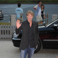 OSAKA, JAPAN - JULY 16: Michael Bay during the &quot;Transformers: Dark of the Moon&quot; stage greeting at Osaka Station City Cinema on July 16, 2011 in Osaka, Japan. The film will open on July 29 in Japan.  (Photo by Koki Nagahama/Getty Images for Paramount Pictures)