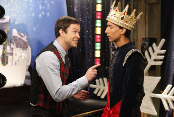 "COMMUNITY -- ""Regional Holiday Music"" Episode 311 -- Pictured: Danny Pudi as Abed -- Pho"