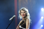 NEW YORK, NY - NOVEMBER 22:  Taylor Swift performs onstage during the &quot;Speak Now World Tour&quot; at Madison Square Garden on November 22, 2011 in New York City. Taylor Swift wrapped up the North American leg of her SPEAK NOW WORLD TOUR with two sold-out shows at Madison Square Garden this week. In 2011, the tour played to capacity crowds in stadiums and arenas over 98 shows in 17 countries spanning three continents, and will continue in 2012 with shows Australia and New Zealand.  (Photo by Larry Busacca/Getty Images)
