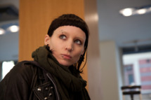 "Rooney Mara stars in Columbia Pictures' ""THE GIRL WITH THE DRAGON TATTOO,"" also starring Daniel Craig."