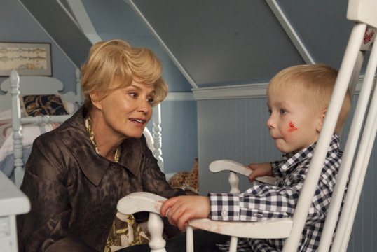 AMERICAN HORROR STORY: Episode 12: Afterbirth (Airs December 21, 10:00 pm e/p). Jessica Lange (L). CR: Prashant Gupta / FX.