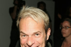 CULVER CITY, CA - MARCH 11:  Musician David Lee Roth poses in the front row at the Maggie Barry for Xubaz Fall 2008 fashion show during Mercedes-Benz Fashion Week held at Smashbox Studios on March 11, 2008 in Culver City, California.  (Photo by Jesse Grant/Getty Images for IMG)