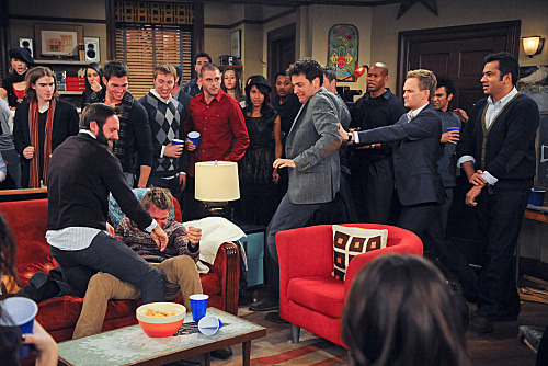 """Tailgate"" --  Barney (Neil Patrick Harris) and Ted (Josh Radnor) open a bar called ""Puzzles,""  on HOW I MET YOUR MOTHER, Monday, Jan. 2 (8:00-8:30 PM, ET/PT) on the CBS Television Network. Kal Penn  guest stars as Kevin. Photo: Ron P. Jaffe/Fox √?¬©2011 Fox Television. All Rights Reserved"