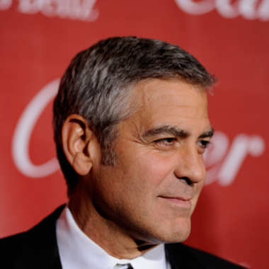 PALM SPRINGS, CA - JANUARY 07:  Actor George Clooney arrives at the 2012 Palm Springs International Film Festival Awards Gala at Palm Springs Convention Center on January 7, 2012 in Palm Springs, California.  (Photo by Frazer Harrison/Getty Images)