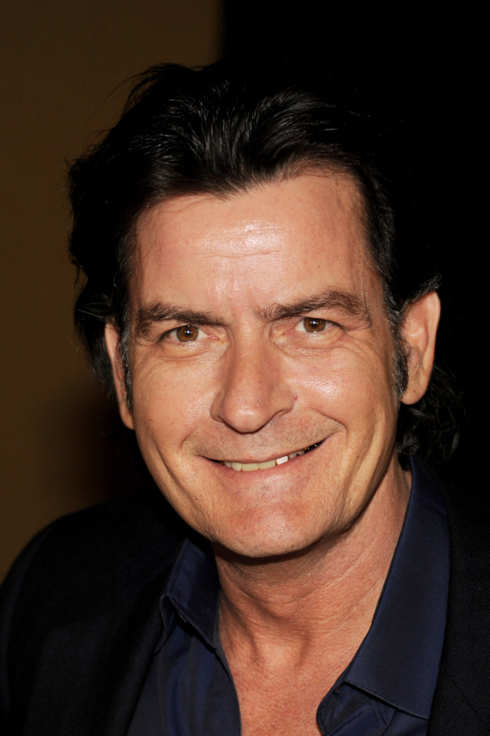 Actor Charlie Sheen appears at Fox's All-Star Party at Castle Green on January 8, 2012 in Pasadena, California.