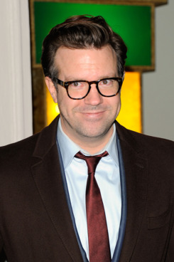 Actor Jason Sudeikis attends the Stella McCartney Soho Store opening on January 9, 2012 in New York City.