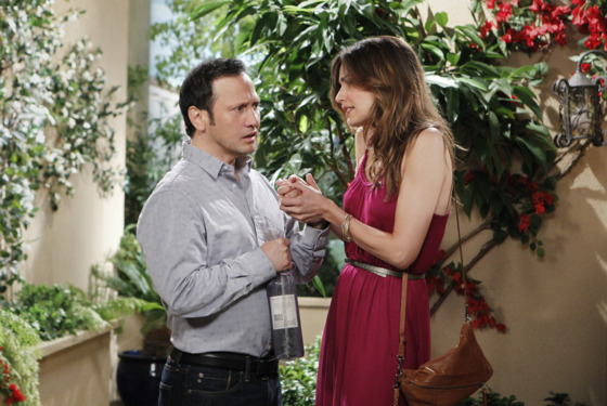 """Pilot"" – Rob is a comedy starring Rob Schneider as a lifelong bachelor who, after a whirlwind romance, marries Maggie (Claudia Bassols), a beautiful, smart fashion boutique owner from a tight-knit Mexican-American family.  Rob will premiere Thursday, January 12 (8:31 – 9:00 PM, ET/PT) on the CBS Television Network.  Photo: SONJA FLEMMING/CBS  ©2011 CBS BROADCASTING INC. All Rights Reserved."