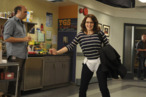 "30 ROCK -- ""Dance Like Nobody's Watching"" Episode 601 -- Pictured: (l-r) Scott Adsit as Pete Hornberger, Tina Fey as Liz Lemon -- Photo by: Ali Goldstein/NBC"