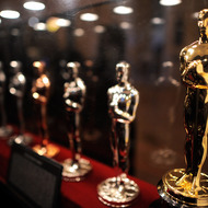 NEW YORK, NY - FEBRUARY 27:  The Oscar Statue production display at the Meet the Oscar Exhibit at Grand Central Termina