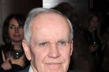 "NEW YORK, NY - FEBRUARY 01:  Writer Cormac McCarthy attends the HBO Films & The Cinema Society screening of ""Sunset Limited"" at Porter House on February 1, 2011 in New York City.  (Photo by Stephen Lovekin/Getty Images) *** Local Caption *** Cormac McCarthy"
