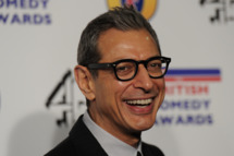 US actor Jeff Goldblum poses at the British Comedy Awards in London on December 16, 2011. AFP PHOTO/CARL COURT (Photo credit should read CARL COURT/AFP/Getty Images)