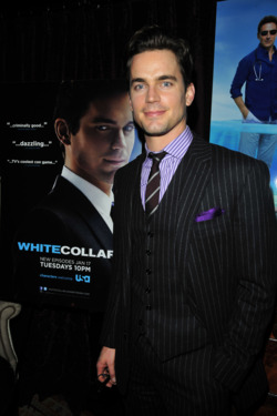 Matt Bomer== Matt Bomer and Mark Feuerstein host intimate  dinner celebrating winter return of USA  Network's hit series White Collar and Royal  Pains== The Lion N.Y.C.== Jan 17, 2012== © Patrick McMullan== Photo - CHANCE YEH/PatrickMcMullan.com== ==