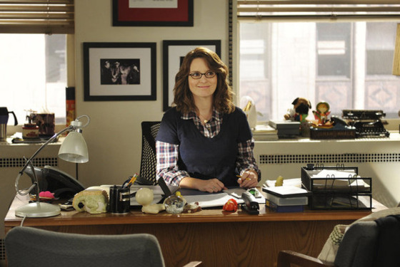 "30 ROCK -- ""Idiots Are People Two"" Episode 602 -- Pictured: Tina Fey as Liz Lemon -- Photo by: Ali Goldstein/NBC"