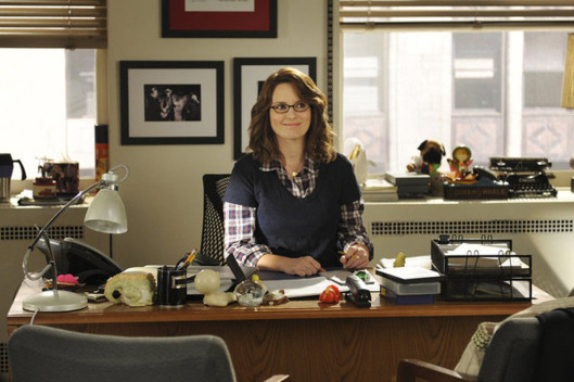 Pictured: Tina Fey as Liz Lemon.