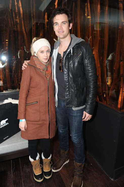 PARK CITY, UT - JANUARY 21:  Actress Megan Park and musician Tyler Hilton attend SOREL At VEVO PowerStation & SOREL Suite featuring The Fresh Lounge Presented by Continuum Entertainment Group at 427 Main St. on January 21, 2012 in Park City, Utah.  (Photo by Gustavo Caballero/Getty Images for Sorel)