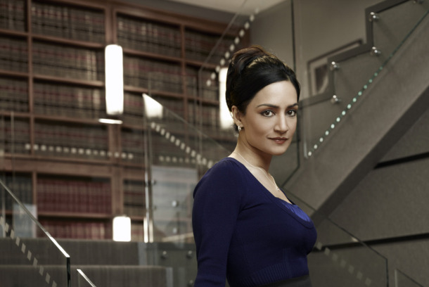 THE GOOD WIFE--Archie Panjabi as Kalinda Sherma on the CBS drama THE GOOD WIFE scheduled to air on the CBS Television Network. Photo: Justin Stephens/CBS ©2010 CBS Broadcasting Inc, All Rights Reserved.