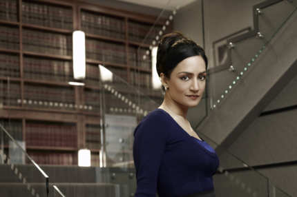 THE GOOD WIFE--Archie Panjabi as Kalinda Sherma on the CBS drama THE GOOD WIFE scheduled to air on the CBS Television Network. Photo: Justin Stephens/CBS ?2010 CBS Broadcasting Inc, All Rights Reserved.