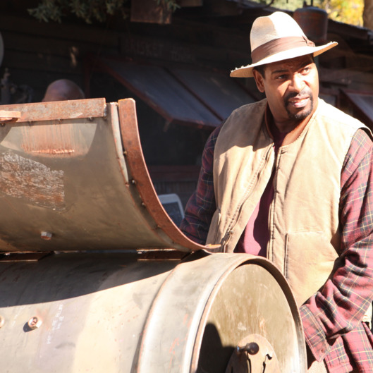 JUSTIFIED: Episode 4: The Devil You Know (Airs February 7, 10:00 pm e/p). Pictured: Mykelti Williamson. CR: Prashant Gupta / FX.