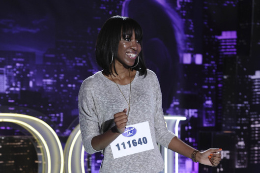 AMERICAN IDOL: Portland contestant Jessica Phillips performs in front of the judges on AMERICAN IDOL airing Wednesday, Feb. 1 (8:00-9:00 PM ET/PT) on FOX. CR: Michael Becker / FOX.