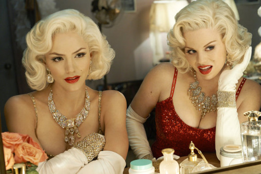 SMASH -- Season:1 -- Pictured: (l-r) Katharine McPhee as Karen Cartwright, Megan Hilty as Ivy Lynn -- Photo by: Mark Seliger/NBC