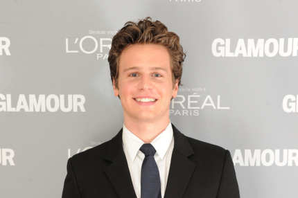 Jonathan Groff attends Glamour's 2011 Women of the Year Awards