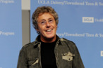 LOS ANGELES, CA - NOVEMBER 04:  Singer Roger Daltrey appears at a press conference to announce the Daltrey/Townsend Teen & Young Adult Cancer Program at UCLA on November 4, 2011 in Los Angeles, California.  (Photo by Kevin Winter/Getty Images)