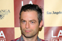 LOS ANGELES, CA - JUNE 18:  Actor Justin Kirk arrives at the 'L!fe Happens' World Premiere during the 2011 Los Angeles Film Festival held at the Regal Cinemas L.A. LIVE on June 18, 2011 in Los Angeles, California.  (Photo by Angela Weiss/Getty Images)