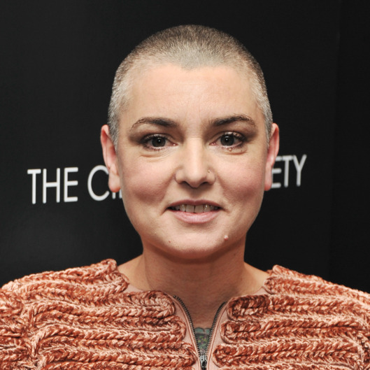 "NEW YORK, NY - DECEMBER 13:  Singer Sinead O'Connor attends the Giorgio Armani & Cinema Society screening of ""Albert Nobbs"" at the Museum of Modern Art on December 13, 2011 in New York City.  (Photo by Stephen Lovekin/Getty Images)"