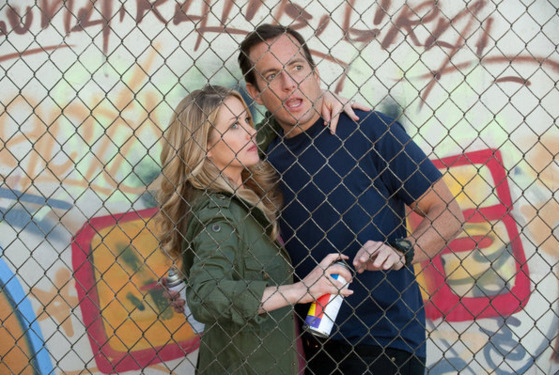 "UP ALL NIGHT -- ""Day After Valentine's Day"" Episode 116 -- Pictured: (l-r) Christina Applegate as Reagan, Will Arnett as Chris -- Photo by: Colleen Hayes/NBC"