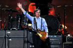 LOS ANGELES, CA - FEBRUARY 12:  Paul McCartney performs onstage at the 54th Annual GRAMMY Awards held at Staples Center on February 12, 2012 in Los Angeles, California.  (Photo by Kevin Winter/Getty Images)