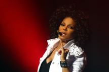 SYDNEY, AUSTRALIA - NOVEMBER 05:  Janet Jackson performs live on stage at the Sydney Opera House on November 5, 2011 in Sydney, Australia.  (Photo by Ryan Pierse/Getty Images)