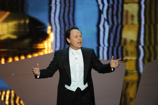 Actor Billy Crystal hosts the ceremony of the 84th Annual Academy Awards
