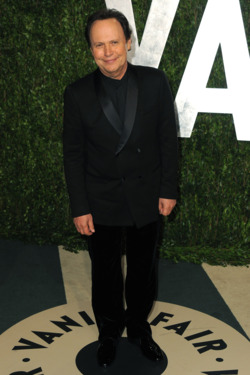 WEST HOLLYWOOD, CA - FEBRUARY 26:  Actor Billy Crystal arrives at the 2012 Vanity Fair Oscar Party Hosted By Graydon Carter held at Sunset Tower on February 26, 2012 in West Hollywood, California.  (Photo by Jordan Strauss/WireImage)