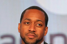 Host Jaleel White speaks onstage during SyFy's 'Total Blackout' panel during the NBCUniversal portion of the 2012 Winter TCA Tour
