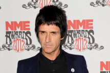 LONDON, ENGLAND - FEBRUARY 29:  Johnny Marr arrives at NME Awards at Brixton Academy on February 29, 2012 in London, England.  (Photo by Ben Pruchnie/Getty Images)