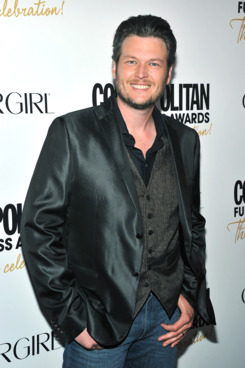 Blake Shelton attends the Cosmopolitan Fun Fearless Men and Women of 2012