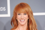 LOS ANGELES, CA - FEBRUARY 12:  Comedian Kathy Griffin arrives at the 54th Annual GRAMMY Awards held at Staples Center on February 12, 2012 in Los Angeles, California.  (Photo by Jason Merritt/Getty Images)