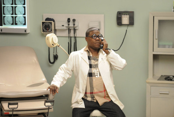 "30 ROCK -- ""Standards and Practices"" Episode 611 -- Pictured: Tracy Morgan as Tracy Jordan -- (Photo by: Ali Goldstein/NBC)"
